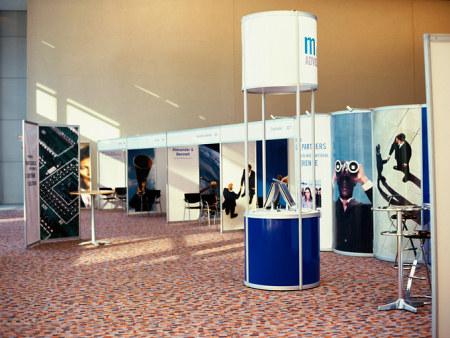 Tradeshow booths, signage, printing and promotional items