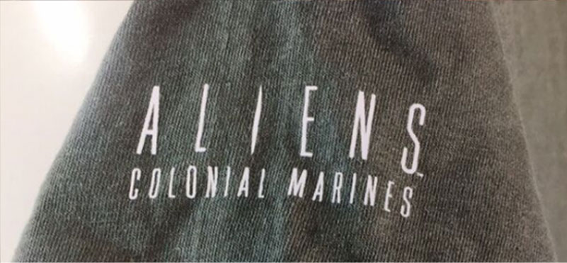 Aliens shirtsleeve