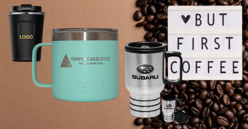 insulated coffee mugs promotional gifts